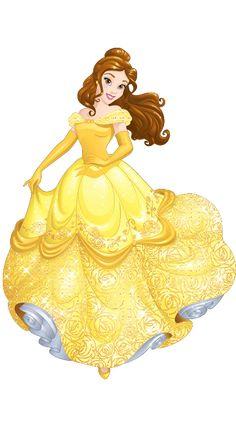 Belle Cartoon And Comic Heroes 3 Princess Disney Disney
