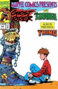 Marvel Comics Presents # 105 by Sam Kieth