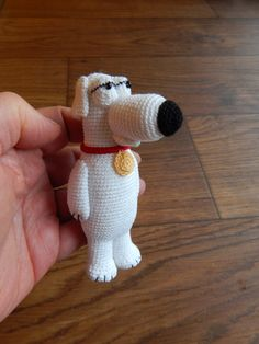 Brian Griffin from Family Guy By Dawn Holbrook