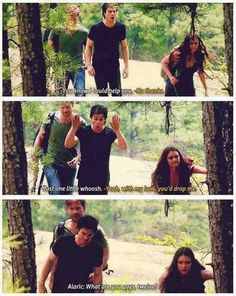 ...honestly, Alaric, it's a possibility with the way they act HAHA