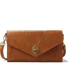 e21f31e61001 Leather Legacy Crossbody Clutch - Saddle Tan Distressed Leather -  Personalize with Monogram - Hand Made in USA by J. Hulme Co. Lauren Nance ·  Fashion