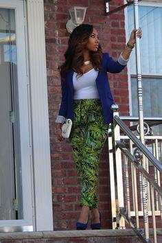 Bold Printed pants