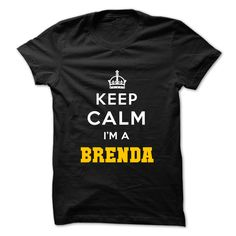 #Funnytshirt... Cool T-shirts  Price :$19.00Purchase Now  Low cost Codes View photographs & pictures of Keep Calm . Im A BRENDA t-shirts & hoodies:In case you do not completely love our design, you'll be able to SEARCH your favourite one through the use of...