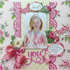 YOU *Anna Griffin* - Scrapbook.com