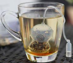 Deep Sea Diver Tea Infuser http://kitchencraftzone.co.uk/diver-tea-infuser/ #deep sea diver #tea infuser