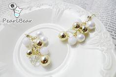 4 kinds of beads Earrings