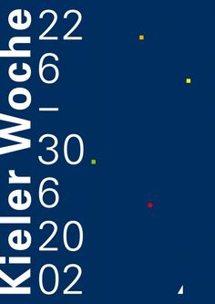 Fons Hickmann M23 - Kieler Woche - 2002, Branding, Corporate Design, Plakate, Poster, T-Shirt