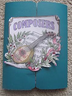 Homeschooling: Or Who's Ever Even Home: Composers Lapbook...