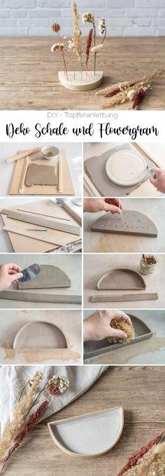 Diy Crafts Hacks, Diy Home Crafts, Diy Arts And Crafts, Diy Clay, Clay Crafts, Clay Projects, Diy With Clay, Instagram Deco, Diy