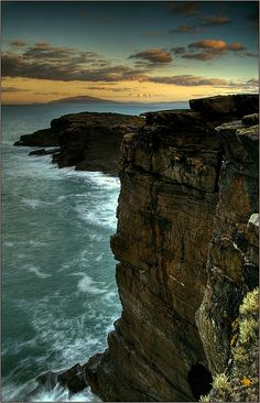 Cliffs On Valencia Island, Kerry, Ireland Copyright: Eric Dega