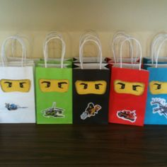 lego ningago gift bags for my class