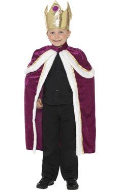 Child Kiddy King Costume | Jokers Masquerade