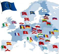 Find European Country Flags Map All Elements stock images in HD and millions of other royalty-free stock photos, illustrations and vectors in the Shutterstock collection. Thousands of new, high-quality pictures added every day. Flags Of European Countries, Eu Countries, Monaco, Saint Marin, European Map, Cruise Europe, Flag Art, Flag Vector, Flags Of The World