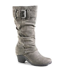 "Product: Relativity® ""Montgomery"" Tall Spat Wedge Boot"