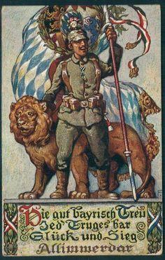 Bavarian Feldpost 1914