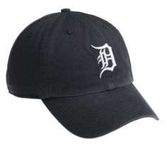 MLB Detroit Tigers Clean Up Adjustable Cap (Navy)