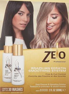he Zelo Keratin treatment does not disappoint! Our Brazilian Keratin Smoothing System for coarse, dry, and damaged hair works like a charm.   Incorporating some of the most beneficial natural ingredients into our products, we provide customers with sulfate, salt, and paraben free shampoos that can be used with no risk of damage. So put your mind at ease and invest in our hair care products! #kertatin #hair #hairstyle