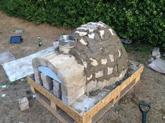 How to Make a Homemade Pizza Oven : 8 Steps (with Pictures) - Instructables Pizza Oven For Sale, Pizza Oven Kits, Pizza Ovens, Stone Pizza Oven, Barbacoa, Oven Diy, Fireplace Garden, Four A Pizza, Backyard Pavilion