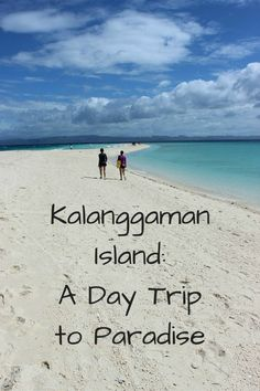Kalanggaman Island definitely fit the description of paradise for me - with it's shining white sand, ridiculously translucent waters and long sandbar. Kalanggaman Island, Love Island, Visit Philippines, Philippines Travel, Paradise Found, Most Beautiful Beaches, Culture Travel, Beautiful Islands, Amazing Destinations