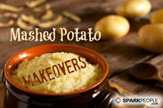 Just in time for Thanksgiving, Chef Meg shares 12 mashed potato makeovers! PLUS: Get six secrets to perfect mashed potatoes. Veggie Side Dishes, Healthy Side Dishes, Side Dish Recipes, Vegetable Recipes, Healthy Holiday Recipes, Thanksgiving Recipes, My Favorite Food, Favorite Recipes, Perfect Mashed Potatoes