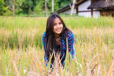 Her style in farm #model #student #farm #unai