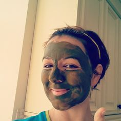 Day 9 of my #meetyourmatcha challenge! Made a matcha face mask early this morning to get a nice glow on my face before work. Matcha + a tiny bit of water to make a thick paste. Leave on for 10 mins and wash off. Voila! #steepedtea  http://www.steepedtea.com