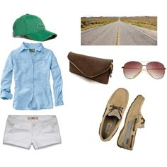 Road Trip Outfit, created by daneice13 on Polyvore