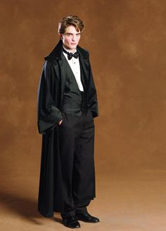 Cedric Diggory dressed for the Yule Ball..