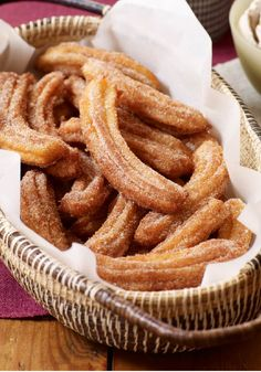 Cinnamon Churros – Our cinnamon churros recipe is the real deal, and the cooking video shows how easy it is to make this Mexican street-food fave.
