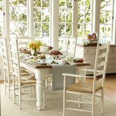 Farmhouse Rectangular Dining Table