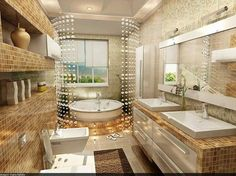 Modern bathroom interior design - Stylish Home Decors, Food Recipes, Beauty Care Recipes