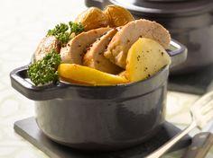 Découvrez la recette Filet mignon de porc fondant en cocotte sur cuisineactuelle.fr.
