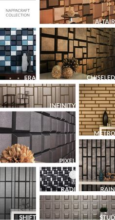 NappaCraft Collection - NappaCraft Collection | NappaTile™ Faux Leather Wall Tiles