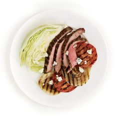 Steakhouse Salad #protein #vegetables #dairy #myplate
