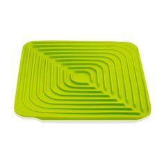 Joseph Joseph® Flume™ Green Draining Dish Drying Mat