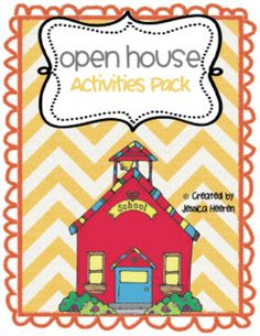 Mrs. Heeren's Happenings: Open House Activities