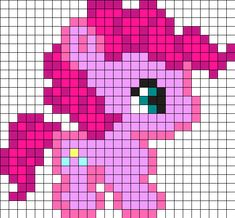 MLP_pinkie_pie by Manon_1324 on Kandi Patterns