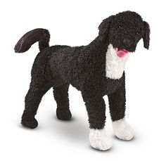 Portuguese Water Dog Dog Giant Stuffed Animal
