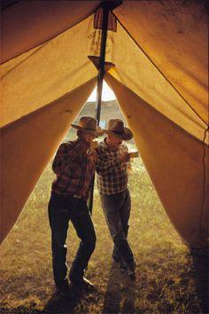Floyd and Smitty. Padlock, Montana 1972  William Albert Allard - Collections