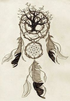 dream catcher + it incorporates a lot of nice elements. The dream catcher is always a dream