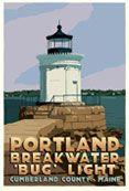Portland Bug Light Art Print