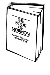 book of mormon coloring pages Book of Mormon Free LDS Clipart | Primary | LDS, Lds clipart, Book  book of mormon coloring pages