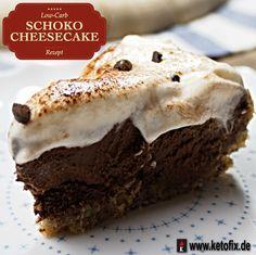 Low Carb Schoko Cheesecake Schokoladenkuchen