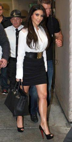 Kim Kardashian Fashion and Style - Kim Kardashian Dress, Clothes, Hairstyle - Page 84
