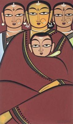 Jamini Roy Paintings