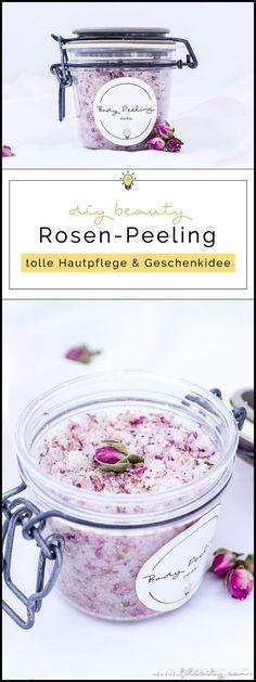 DIY Body Scrub: Rosen-Peeling selber machen - DIY Hautpflege & Geschenkidee für Valentinstag   Naturkosmetik selber machen   Filizity.com   Beauty- & DIY-Blog aus dem Rheinland #valentinstag #geschenkidee #muttertag