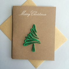 Quilled Holiday Cards set of 5 image 4 Paper Quilling Cards, Paper Quilling Patterns, Quilled Paper Art, Paper Crafts Origami, Diy Holiday Cards, Xmas Cards, Paper Quilling For Beginners, Tarjetas Diy, Quilling Christmas