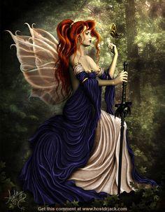 Fairy with a Sword