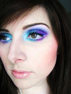 Crafty Lady Abby: BEAUTY: Galaxy Eyes