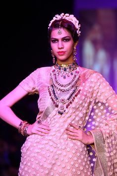 Shabana Azmi and Javed Akhtar walk the ramp for Golecha's Jewels at IIJW 2013 | PINKVILLA